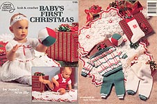 ASN Knit & Crochet Baby's First Christmas
