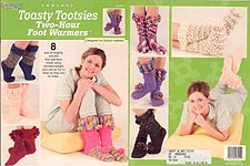 Crochet Toasty Tootsies Two-Hour Foot Warmers