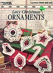Leisure Arts Lacy Christmas Ornaments