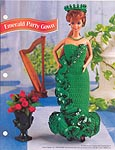 Annie's Fashion Doll Crochet Club: Emerald Party Gown