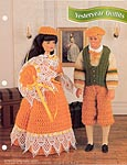 Annie's Fashion Doll Crochet Club: Yesteryear Outfits