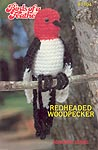 Annie's Attic Birds of a Feather - Redheaded Woodpecker