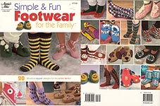 Annie's Attic Simple & Fun Footwear for the Family