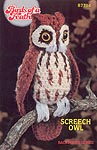 Annie's Attic Birds of a Feather --Screech Owl