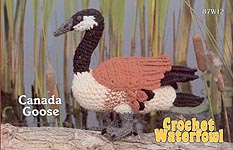 Annie's Attic Birds of a Feather Crochet Waterfowl -- Canada Goose