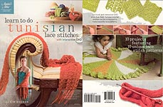 Annie's Attic Learn to Do Tunisian Lace Stitches