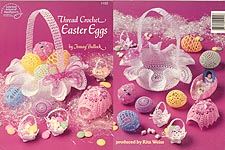 ASN Thread Crochet Easter Eggs