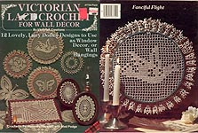 Plaid Ent. Victorian Lace Crochet for Wall Decor