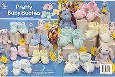 Annie's Attic Pretty Baby Booties