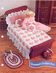 Annies Fashion Doll Crochet Club: Grandma's Feather Bed