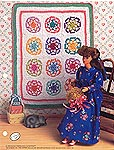 Annies Fashion Doll Crochet Club: Old-Fashioned Star Quilt