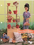 Annies Fashion Doll Crochet Club: Flower Pots & Baskets