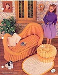 Annies Fashion Doll Crochet Club: French Settee