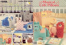 Leisure Arts Musical Crib Pillows