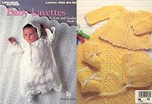 Leisure Arts Baby Layettes to Knit and Crochet, Book 2