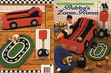 Annie's Attic Fashion Doll Home Decor Crochet Collectors Guild: BUBBA'S ZOOM ROOM