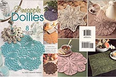 Annie's Attic Pineapple Doilies