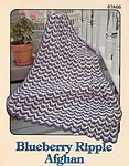 Annie's Attic Blueberry Ripple afghan