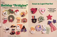 "Maggie's Crochet Holiday ""Fridgies"""
