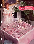 Annies Fashion Doll Crochet Club: Delicate Dining