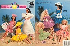 Annie's Attic Fashion Doll Fun In the Sun Dresses