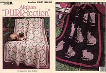 Leisure Arts Afghan Purr-fection