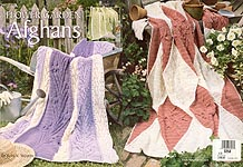 Leisure Arts Flower Garden Afghans