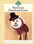 Snowman Doorknob Cover