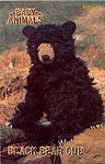 Annie's Attic Baby Animals: Black Bear Cub