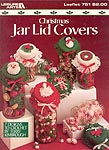 Leisure Arts Christmas Jar Lid Covers