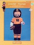 Thomas the football player, by Td creations, inc. for 13 inch doll