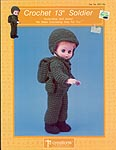 Soldier, by Td creations, inc. for 13 inch doll