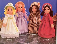 Annie's Attic Four Seasons Dolls
