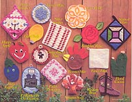 Annie's Attic Potholders A'Plenty