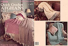 Leisure Arts Quick Crochet Afghans, Book 3