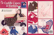Annie's Attic Crochet Cuddle Capes & Blankies