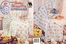 Annie's Attic Crochet Baby Blossoms Afghans