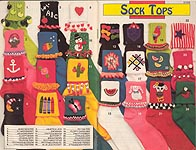 Annie's Attic Sock Tops