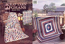 Leisure Arts Scrap Yarn Afghans, Book Two