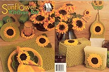 Annie's Attic Sunflower Kitchen Set