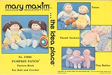 Pumpkin Patch Pattern Book For Knit and Crochet