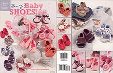 Annie's Attic Beautiful Baby Shoes