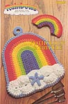 Rainbows: Potholder & Fridgie