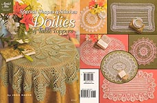 Annie's Attic Special Shapes & Stitches Doilies & Table Toppers
