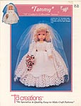 Tammy bride dress for 14 inch Katie doll