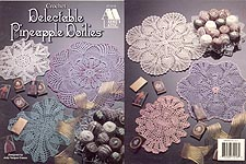 Annie's Attic Delectable Pineapple Doilies