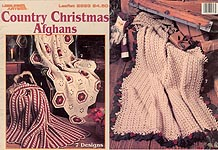 Leisure Arts Country Christmas Afghans