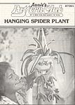 Annie's Attic Hanging Gardens: Spider Plant (original black & white version)
