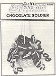 Annie's Attic Hanging Gardens: Chocolate Soldier (b/w)