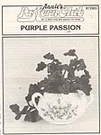 Annie's Attic Hanging Gardens: Purple Passion (b/w)